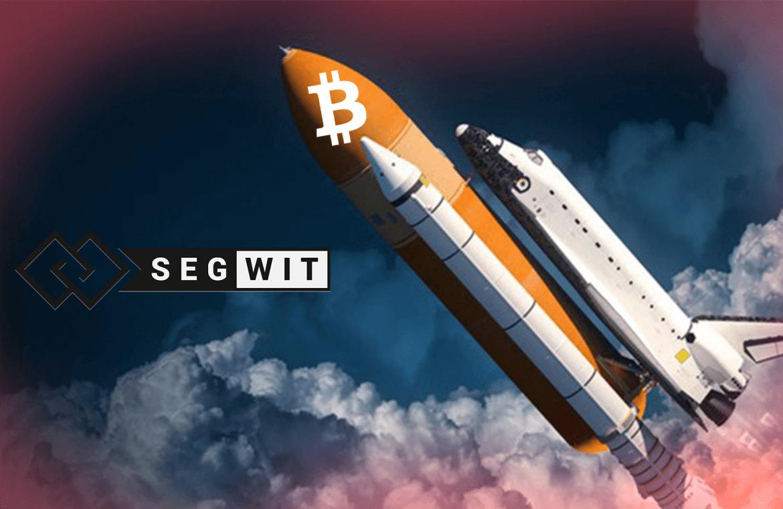 SegWit зафиксировал максимальный уровень трансакций в Bitcoin