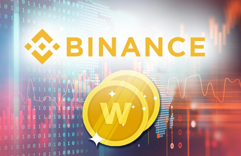 Binance запустила IEO токена WRX на своей торговой платформе